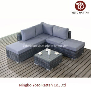 Grey Corner Sofa for Outdoor (1501) pictures & photos