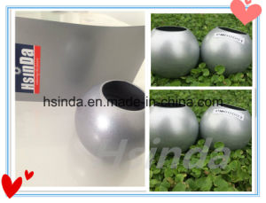 High Quality Golden Supplier Double Bonded Polyester Silver Metallic Powder Coating pictures & photos