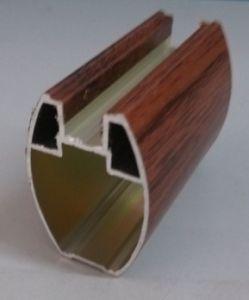 Clading PVC Wood Aluminium for Wardrobe Door Profile pictures & photos