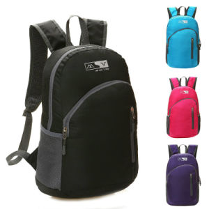 Color Light Back Pack with Two Shoulders for School Adult