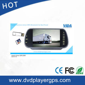 "New 7"" Rearview Mirror Monitor 12V 24V 2X 66FT IR Reversing CCD Camera for Truck Bus pictures & photos"