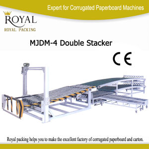 High Quality Double Stacker for Paperboard Carton (MJDM-4) pictures & photos
