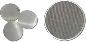 304 316 Stainless Steel Industrial Layered Filter Disc pictures & photos