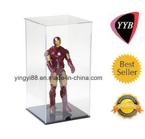 Best Selling Acrylic Doll Display Case with Black Base pictures & photos