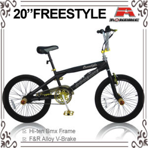 Sport 20 Gold BMX Little Wheel Freestyle Bike (ABS-2022S) pictures & photos
