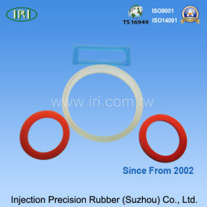 Colorful Silicone Rubber Gasket for Automobile