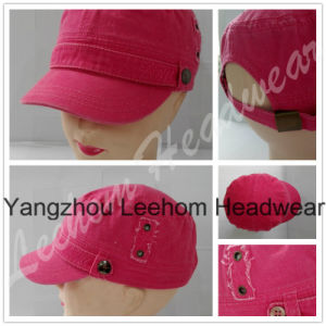 Wholesale Military Army Pigment Dyed Washed Cap for Lady pictures & photos