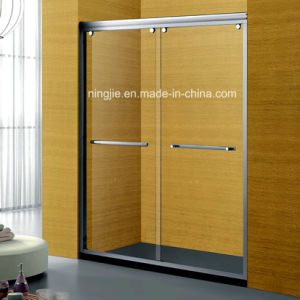 Beauty Aluminum Bathroom Two Sliding Door Shower Screen (A-042B) pictures & photos