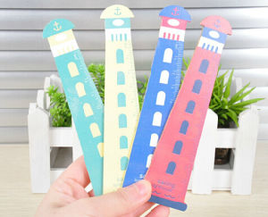 2017 Nw Design Colorful Wooden Ruler pictures & photos