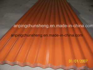 Weave Shape Steel Sheet for Roofing Using pictures & photos
