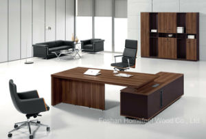 Durable Wood Chinese Furniture Table Manager Director Office Table (HF-TWB109) pictures & photos