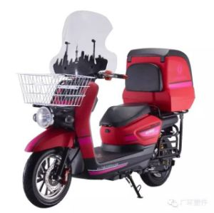 Pizza Electric Scooter 60V/72V 1500W 20ah Electric Motorcycle pictures & photos