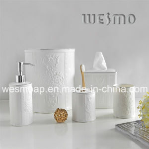Embossment Porcelain Bath Coordinates (WBC0610A) pictures & photos