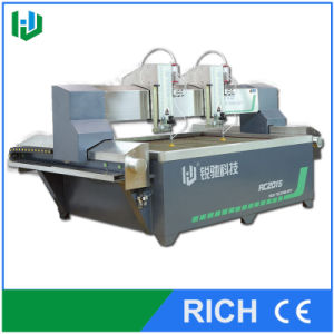 Water Jet Machine with 2 Cutting Head pictures & photos