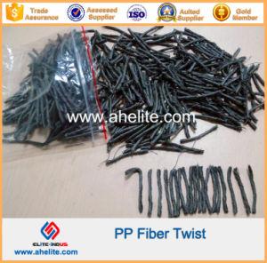 54mm Macrofiber Twisted Bundle PP Fiber Twist for Construction pictures & photos