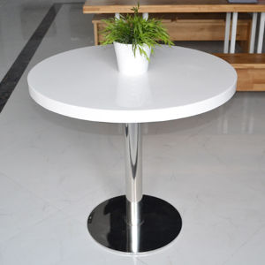 Home Furniture 2017 Whole Sale New Fashion Solid Surface Table (ST01)