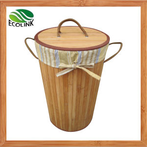 Bamboo Laundry Basket / Dirty Clothes Basket pictures & photos