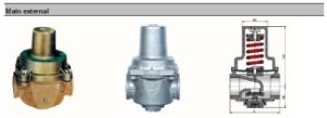Stainless Steel Direct-Acting Pressure Reducing Valve pictures & photos