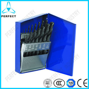 15PCS Heavy Duty Black Oxide M2 HSS Twist Drill Bit Set pictures & photos