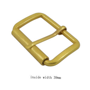 Custom Metal Alloy Roller Buckle pictures & photos