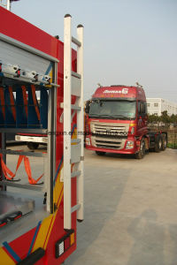 Fire Fighting Truck Parts Accessories Aluminum Step Ladder pictures & photos