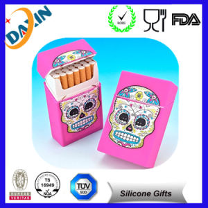 Cheap 25 Pack Silicone Cigarette Case Box pictures & photos