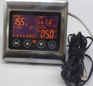 Touch Screen Underfloor Heating Thermostat with Metal Frame pictures & photos