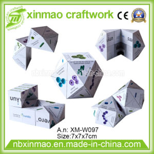 7cm Diamond Shape Magic Cube Without Magnetic for Promo pictures & photos