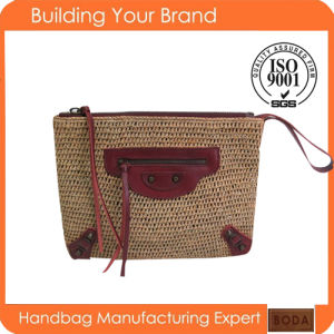 Hot Selling Fashion Women Paper Straw Bag From Manufacturer (BDM041) pictures & photos
