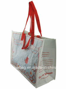 New Design Promontional PP Woven Recycle Shopping Bag