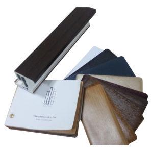 Weather Resitance Wooden Grain PVC Film for Windwo & Door Profiles pictures & photos