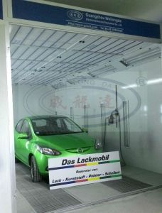 Car Painting Oven Car Paint Booth for Sale Wld-8200 pictures & photos
