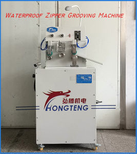 PVC Waterproof Zipper Grooving Machine Seam Sealing Machine