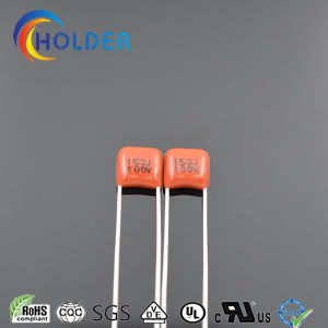 Polyester Film Capacitor with All Series (CL21) pictures & photos
