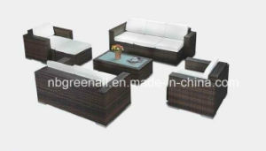 All Weather Wicker Leisure Outdoor Garden Sofa pictures & photos