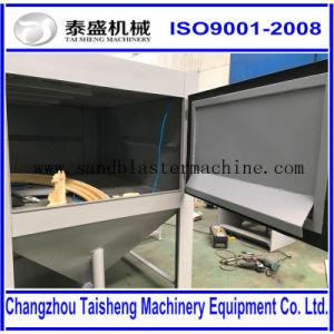 Manual sandblasting machine / blasting cabinet / dry manual sandblaster
