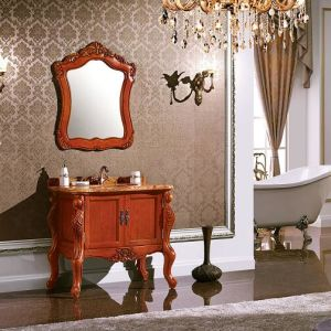 Classic Solid Wood Bath Vanity pictures & photos