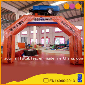 China Factory Custom Inflatable Advertising Arch for Outdoor Decoration (AQ53186) pictures & photos