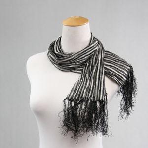 New Summer Style Muslim Hijab Nylon European Stripe Scarf pictures & photos