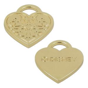 Metal Zinc Alloy Gold Heart Fashion Pendant pictures & photos