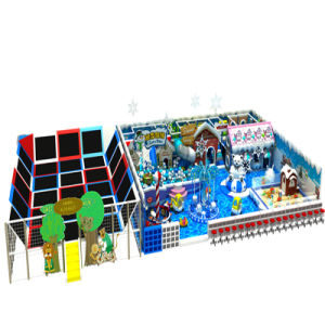 Ice and Snow Theme Amusement Equipment for Indoor Playground pictures & photos