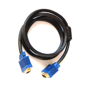 24k Gilded VGA Jumper Cable, Male to Male pictures & photos