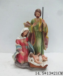 Polyresin Religious Figurine of Jesus for Christmas Ornament pictures & photos