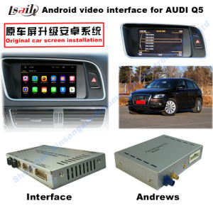 HD All-Purpose Car GPS Upgrading Interface Navigation Box for Q5 (LLT-Audi-VER4.5.1) , Touch pictures & photos