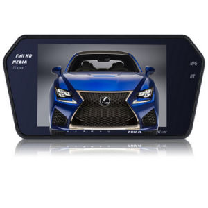 7 Inch Car Rearview Monitor with Bluetooth MP3 Back-View Camera pictures & photos