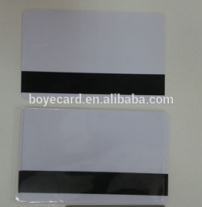 Cr80 Printable Blank White Plastic Card with Magnetic Stripe pictures & photos