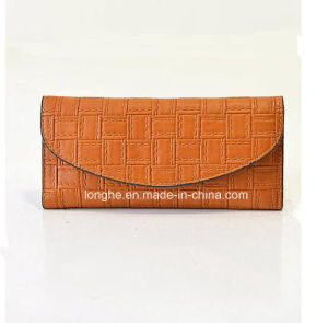 Wholesale European Vintage Women PU Leather Ladies Purses (ZX10145) pictures & photos