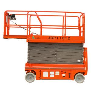 16m Working Height, Hydraulic Scissor Lift, Gl-Jcpt1612