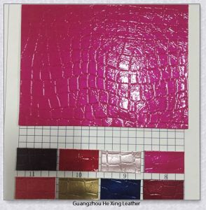 Synthetic Embossed PU/ PVC Leather for Bag, , Shoes pictures & photos