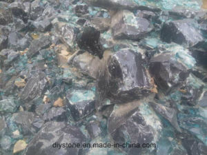 Super Quantity Grey Broken Glass Landscaping Decoration pictures & photos